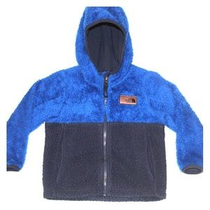 The North Face Toddler Hooded Sherpa Fleece Jacket